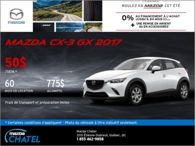 Le Mazda CX-3 GX 2017
