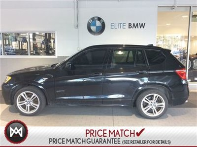 BMW X3 M SPORT, NAV, PREMIUM 2014