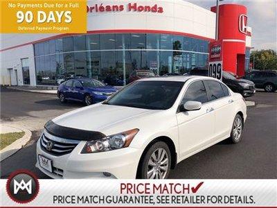 2012 Honda Accord EX-L .LEATHER INTERIOR, HEATED SEATS, SUNROOF,