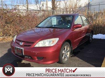 2005 Honda Civic Sdn ***AS TRADED***Si