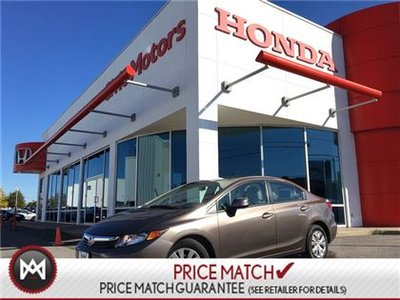 2012 Honda Civic Sdn LX - BLUETOOTH, CRUISE CONTROL,