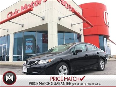 Honda Civic Sdn LX - HEATED SEATS, BLUETOOTH, CRUISE 2014