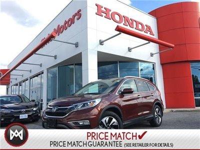 2016 Honda CR-V TOURING - 4YR/100,000 KMS HONDA WARRANTY, NAVI