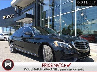2016 Mercedes-Benz C300 Exclusive exterior, aluminum trim, navi, panoramic sunroof