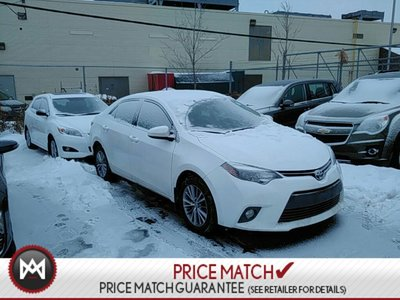 2015 Toyota Corolla UPGRADE: POWER SUNROOF, HEATED SEATS, BLUETOOTH
