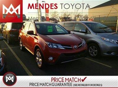 Toyota RAV4 LIMITED, BACKUP CAMERA, HEATED SEATS WITH MEMORY 2013