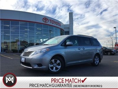 2017 Toyota Sienna LE: BACKUPCAM, HEATED SEATS, 3 ZONE CLIMATE