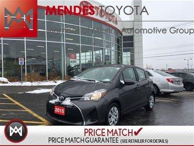 2015 Toyota Yaris LE: BLUETOOTH, CRUISE, AC Take advantage of our special fleet purachase.