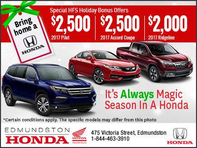 The Bring Home a Honda Event!