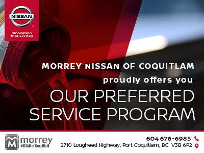Morrey Preferred Service Program
