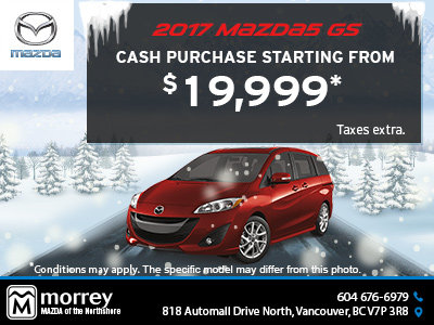 Drive Home a 2017 Mazda5 Today!