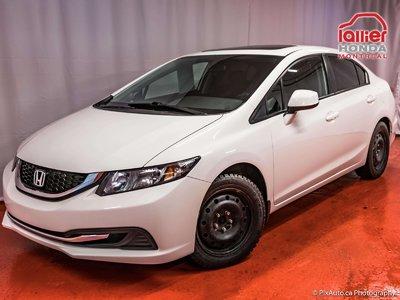 2013 Honda Civic EX + GARANTIE 10 ANS OU 200 000 KM