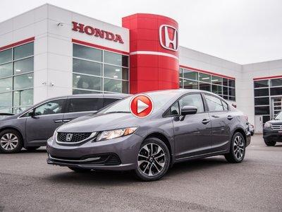 Honda Civic EX BERLINE 2014 + GARANTIE 10ANS/200,000KM 2014