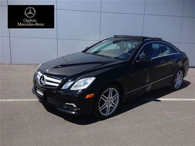 Pre owned 2011 mercedes benz e550 coupe in ottawa used for 2011 mercedes benz e550 coupe