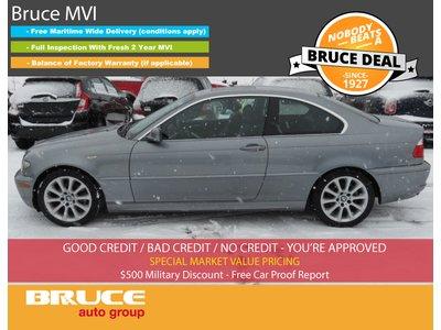 2005 BMW 3 Series 325Ci 2.5L 6 CYL 5 SPD MANUAL RWD 2D COUPE | Bruce Hyundai