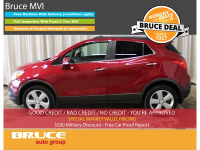 2015 Buick Encore CX - BOSE SOUND / 4G LTE / BACK-UP CAMERA | Bruce Ford