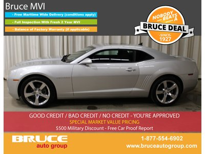 2010 Chevrolet Camaro 1LT 3.6L 6 CYL 6 SPD MANUAL RWD 2D COUPE | Bruce Hyundai