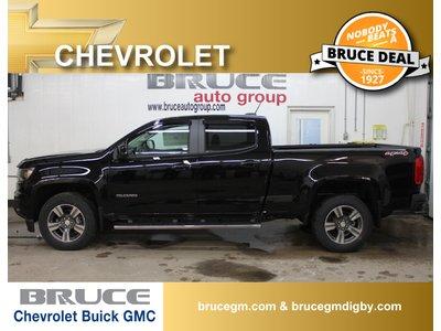 2018 Chevrolet Colorado WT 3.6L 6 CYL AUTOMATIC 4X4 CREW CAB | Bruce Chevrolet Buick GMC Middleton