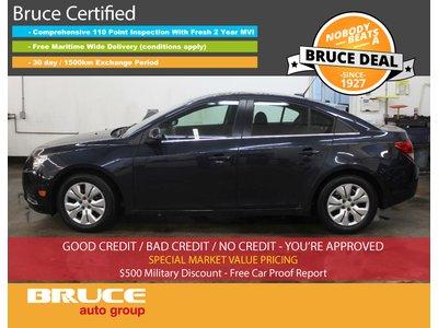 2014 Chevrolet Cruze LT 1.4L 4 CYL TURBOCHARGED AUTOMATIC FWD 4D SEDAN | Bruce Hyundai