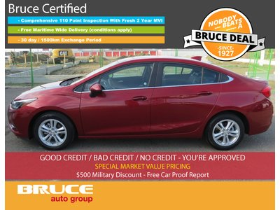 2017 Chevrolet Cruze LT - SUN ROOF / HEATED SEATS / REMOTE START   Bruce Ford