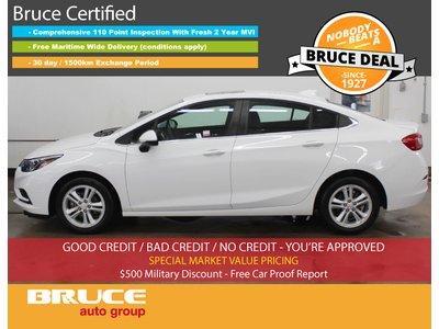 2017 Chevrolet Cruze LT - REMOTE START / HEATED SEATS / SUN ROOF | Bruce Hyundai