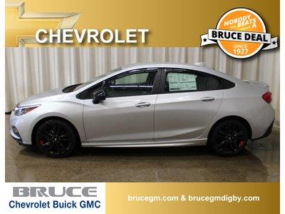 2018 Chevrolet Cruze LT 1.4L 4 CYL TURBO AUTOMATIC FWD 4D SEDAN   Bruce Chevrolet Buick GMC Middleton