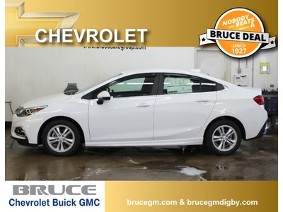 2018 Chevrolet Cruze LT 1.4L 4 CYL AUTOMATIC FWD 4D SEDAN | Bruce Chevrolet Buick GMC Middleton