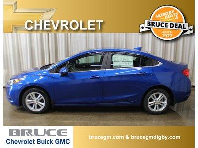 2018 Chevrolet Cruze LT 1.4L 4 CYL TURBO AUTOMATIC FWD 4D SEDAN | Bruce Chevrolet Buick GMC Middleton