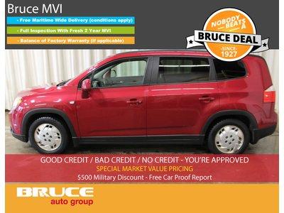 2012 Chevrolet Orlando LT 2.4L 4 CYL AUTOMATIC FWD - 7 PASSENGER | Bruce Hyundai