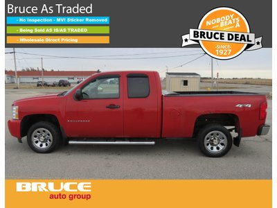 2008 Chevrolet Silverado 1500 LS 4.8L 8 CYL AUTOMATIC 4X4 EXTENDED CAB | Bruce Ford