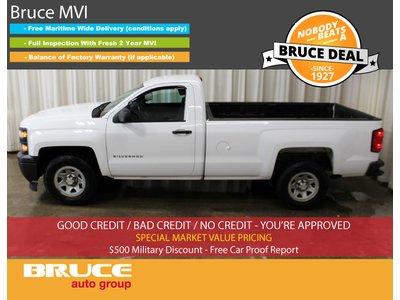 2014 Chevrolet Silverado 1500 WT 4.3L 6 CYL AUTOMATIC RWD REGULAR CAB | Bruce Hyundai
