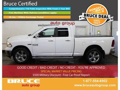 2014 Dodge RAM 1500 Big Horn 3.0L 6 CYL ECODIESEL 4X4 QUAD CAB | Bruce Hyundai