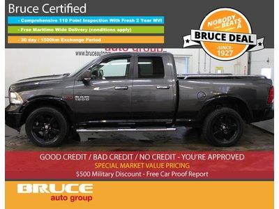 2014 Dodge RAM 1500 Outdoorsman 3.0L 6 CYL ECODIESEL 4X4 QUAD CAB | Bruce Hyundai