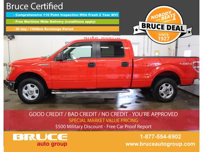 2014 Ford F-150 XLT 5.0L 8 CYL AUTOMATIC 4X4 SUPERCREW | Bruce Chevrolet Buick GMC Middleton