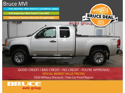 2010 GMC Sierra 1500 SL 4.8L 8 CYL AUTOMATIC 4X4 EXTENDED CAB | Bruce Chevrolet Buick GMC Middleton