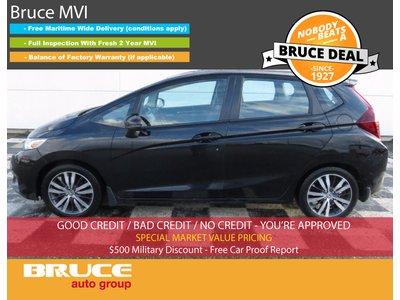 2015 Honda Fit EX-L 1.5L 4 CYL CVT FWD 5D HATCHBACK | Bruce Hyundai