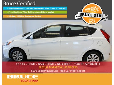 2016 Hyundai Accent GLS 1.6L 4 CYL AUTOMATIC FWD 5D HATCHBACK | Bruce Chevrolet Buick GMC Middleton