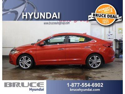 2017 Hyundai Elantra LIMITED 2.0L 4 CYL AUTOMATIC FWD 4D SEDAN   Bruce Hyundai