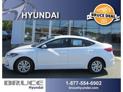 2017 Hyundai Elantra LE 2.0L 4 CYL AUTOMATIC FWD 4D SEDAN | Bruce Hyundai