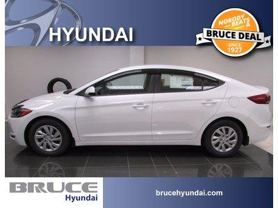 2017 Hyundai Elantra LE 2.0L 4 CYL AUTOMATIC FWD 4D SEDAN   Bruce Hyundai