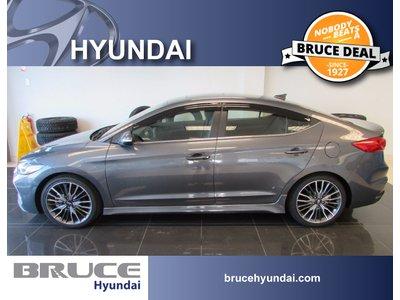 2018 Hyundai Elantra SPORT 1.6L 4 CYL 6 SPD MANUAL FWD 4D SEDAN   Bruce Hyundai