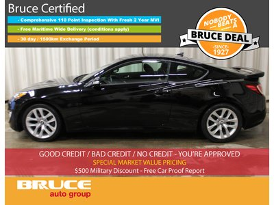 2015 Hyundai Genesis GT 3.8L 6 CYL 6 SPD MANUAL RWD 2D COUPE | Bruce Hyundai