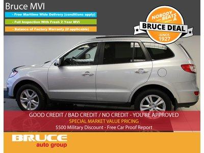 2010 Hyundai Santa Fe LIMITED - LEATHER / NAVIGATION / SUN ROOF   Bruce Hyundai