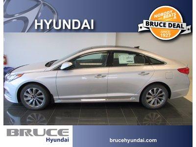 2017 Hyundai Sonata Limited 2.4L 4 CYL AUTOMATIC FWD 4D SEDAN   Bruce Hyundai