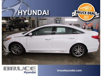 2017 Hyundai Sonata 2.0L 4 CYL TURBO AUTOMATIC FWD 4D SEDAN | Bruce Hyundai