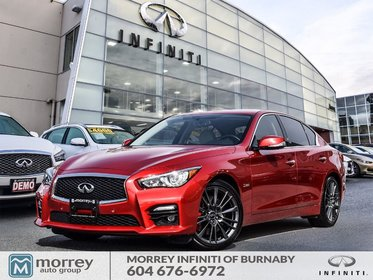 2017 Infiniti Q50 3.0t Red Sport 400HP  Driver Assistance Package