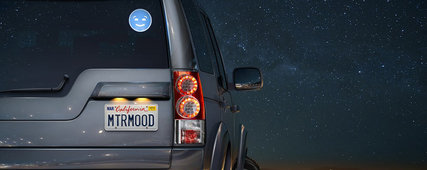 Un emoji qui remercie le véhicule derrière vous!