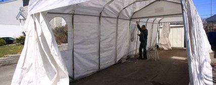 Caution before buying your temporary car shelter in Vaudreuil-Dorion, Île Perrot, Pincourt and St-Lazare