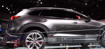Mazda expose son tout nouveau CX-9 au Salon de l'auto de Détroit