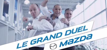 Le grand duel Mazda avec nos vedettes